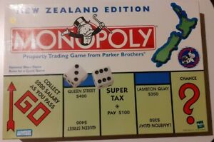 Monopoly-Board-Game-New-Zealand-EDITION-occasion-tres-bon-etat