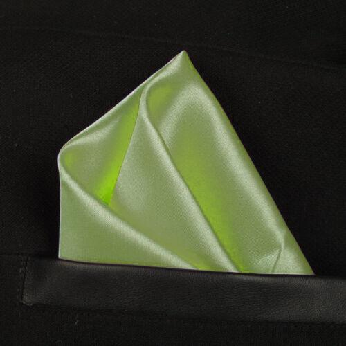 Einstecktuch Einsteck Tücher Hanky Tuch Anzug Kavaliers Tuch Sakko Olive Grün