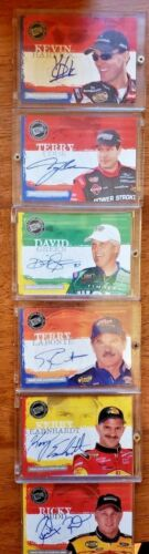Various Drivers Cased Cards! 2005 Press Pass Certified Authentic Autographs