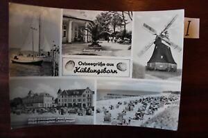 Courageux Carte Postale Vue Carte Mecklembourg Baltique Salutations Kühlungsborn-afficher Le Titre D'origine Qualité Et Quantité AssuréE