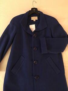 kvinder nyt Mode Winter Blue Warm størrelse 6p Royal coat qvvdwx84S