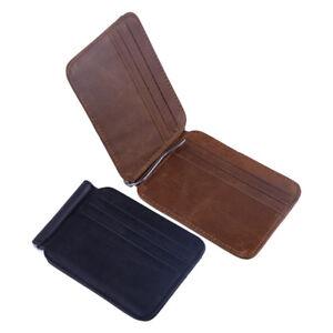 Portefeuille-Cuir-de-vachette-Veritable-Porte-cartes-Homme-Leather-Wallet