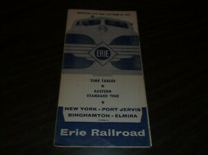 OCTOBER-1957-ERIE-RAILROAD-FORM-2-NEW-YORK-STATE-SERVICE-PUBLIC-TIMETABLE
