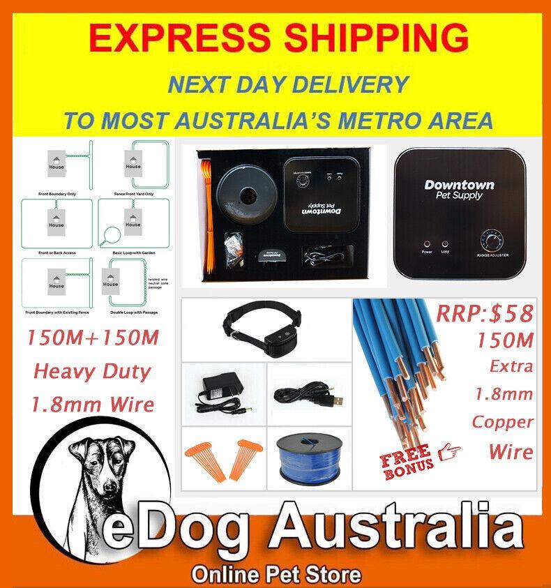 300M 1000 Feet Wire Hidden Underground Waterproof Electric Dog Collar Fence Kit