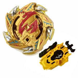 Beyblade Burst Gyro Gold B113 Hell Salamander 12 Op With L R String Launcher Ebay
