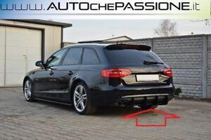 Estrattore-posteriore-sotto-paraurti-per-Audi-A4-B8-Avant-dal-2011-gt-2015