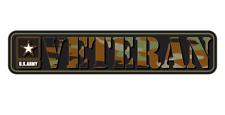 Veteran Patriot Freedom Us Army American Camo Car Truck Vinyl Sticker Decal Wall