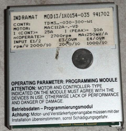 Indramat CNC Programming Module MOD13//1X0154-035 CNC /_ MOD131X0154035