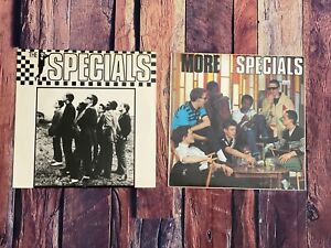 The-Specials-SELF-TITLED-amp-MORE-SPECIALS-LP-Vinyl-Record-Album-LOT-OF-TWO-1980
