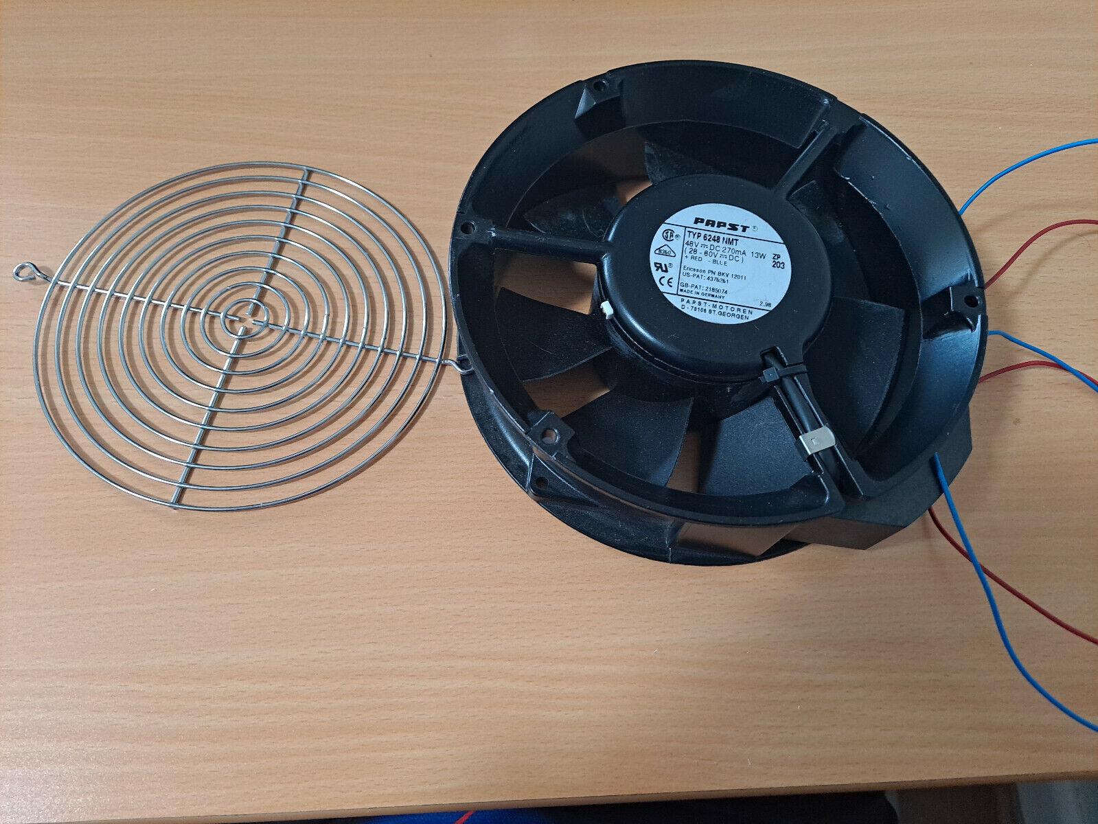 EBM PAPST DC Fan Axial Ball Bearing 48V 28V to 60V 206CFM 50dB - 6248NMT