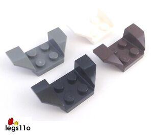 5 Pcs LEGO 41854 White 2X4 WHEEL ARCH 2 x 4 Plate
