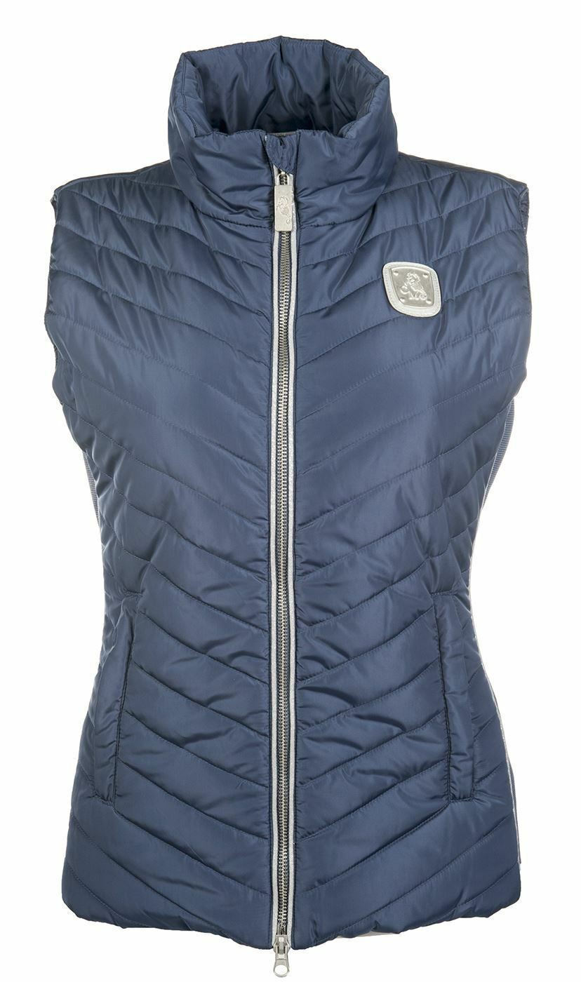 Cavallino Marino Soft Powder Fitted Horse Riding Body Warmer - SALE