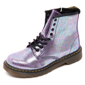 Boot D3828 Scarpe Shoe Martens Viola Box Dr without Anfibio Bimba 4x4RB8q