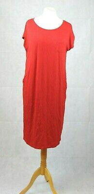Mothercare Maternity Must Have Red Dress Size 20 Uk Rrp £18 Cr096 Jj 15 Gute WäRmeerhaltung