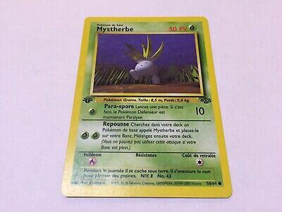 Carte Pokemon MYSTHERBE 58//64 Jungle Wizard Neuve Française EDITION 1