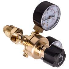 Cga580 Argon Regulator Gauge Flow Meter For Mig Tig Welding Gas Welder 4500psi