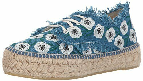 LOEFFLER RANDALL Damens Alfie Wedge (Woven Embroidery) Espadrille Wedge Alfie Sandal 01f399