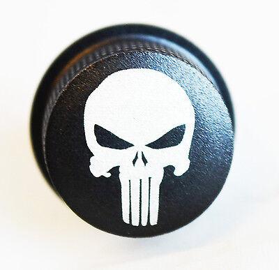 Aluminium Knurled Punisher-Style Mudguard Bolt/Tab Harley Softail 1973 - 1996