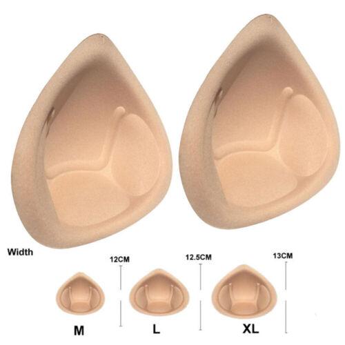 1PC Insert Push Up Bra Sponge Pad Enhancer Triangle Inserts Chest Cups Breast s