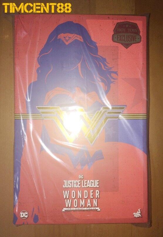 Ready  Hot Toys MMS506 Justice League 1 1 1 6 Wonder Woman Comic Concept Version e0af1d