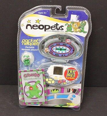 Neopets Portable Pocket Game Grundo