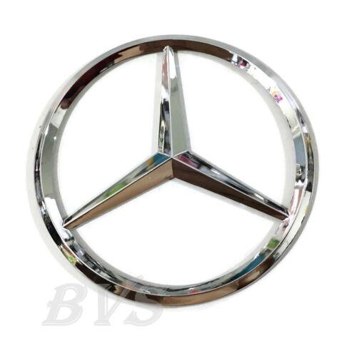 New For Mercedes Benz Chrome Star Trunk Emblem Badge 75mm Sticker
