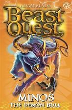 The Warlock's Staff Series 9: Minos the Demon Bull (Beast Quest), Blade, Adam, N