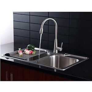 Bon Image Is Loading AFA Stainless 33 034 Kitchen Sink And Pull