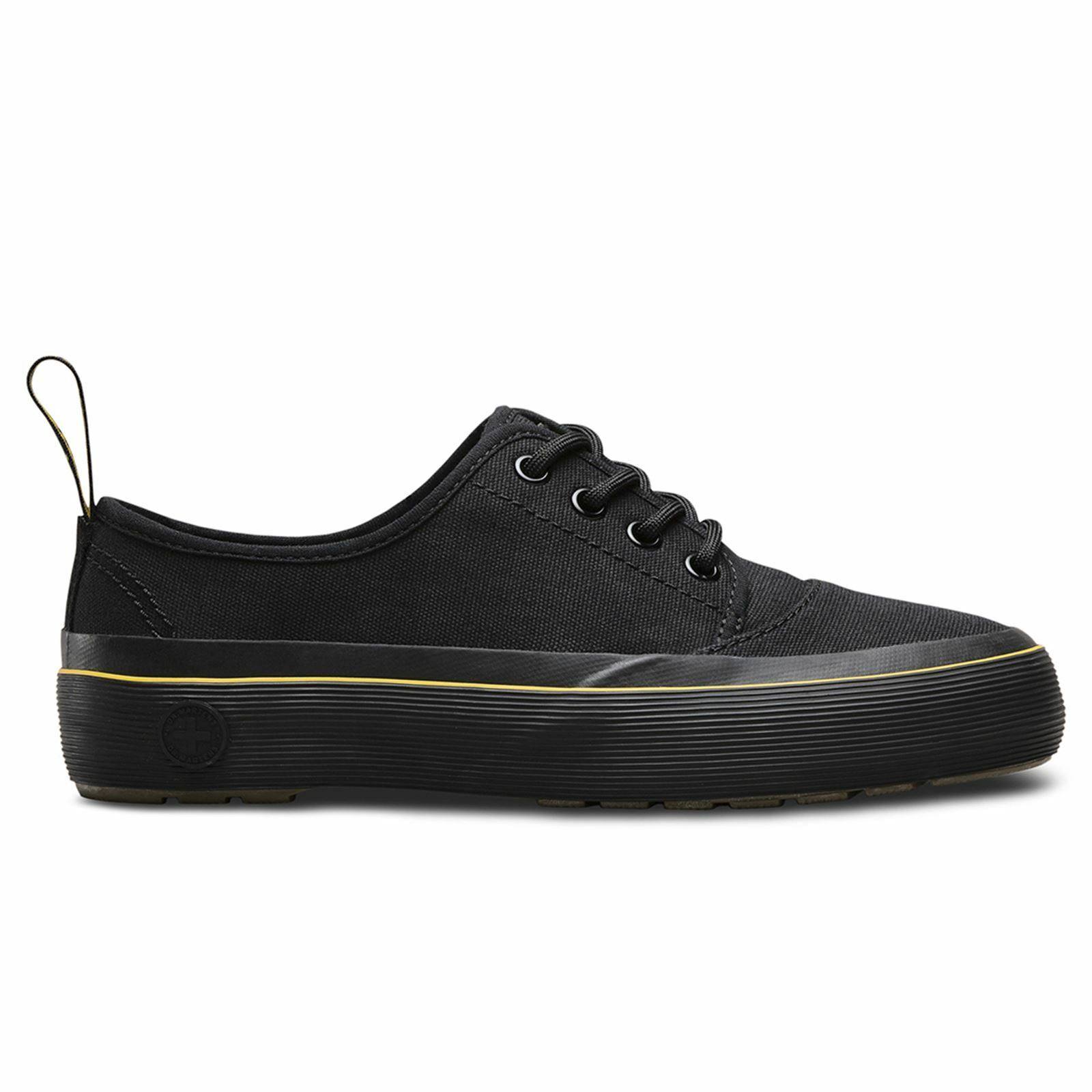 Dr.Martens Jacy 4 Eyelet Canvas Black Womens shoes