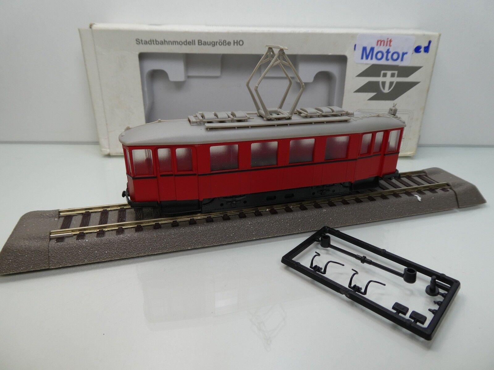 """Wiener Linien - H0 - Triebwagen mit MOTOR - Type """"N"""" - TOP in OVP -"""
