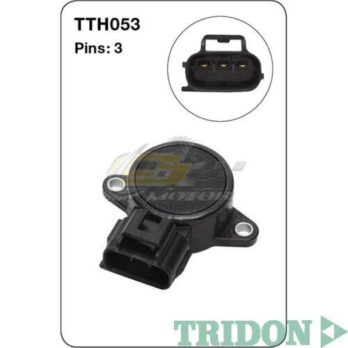 TRIDON TPS SENSORS FOR Daihatsu YRV 12//04-1.3L K3-VE DOHC 16V Petrol