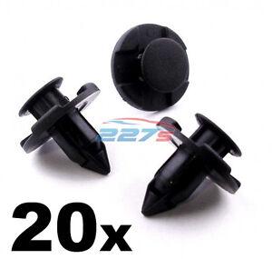 20x-Wheel-Arch-Lining-Splashguard-Clips-for-Nissan-8mm-Plastic-Trim-Clips