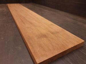 IROKO TIMBER BOAT HARDWOOD SOLID WOOD AFRICAN TEAK 180mm x 22mm x 1195mm (6781)