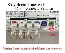 6 speaker cable/wire 80ft made for 4.2mm Sony/Samsung/Panasonic home theater