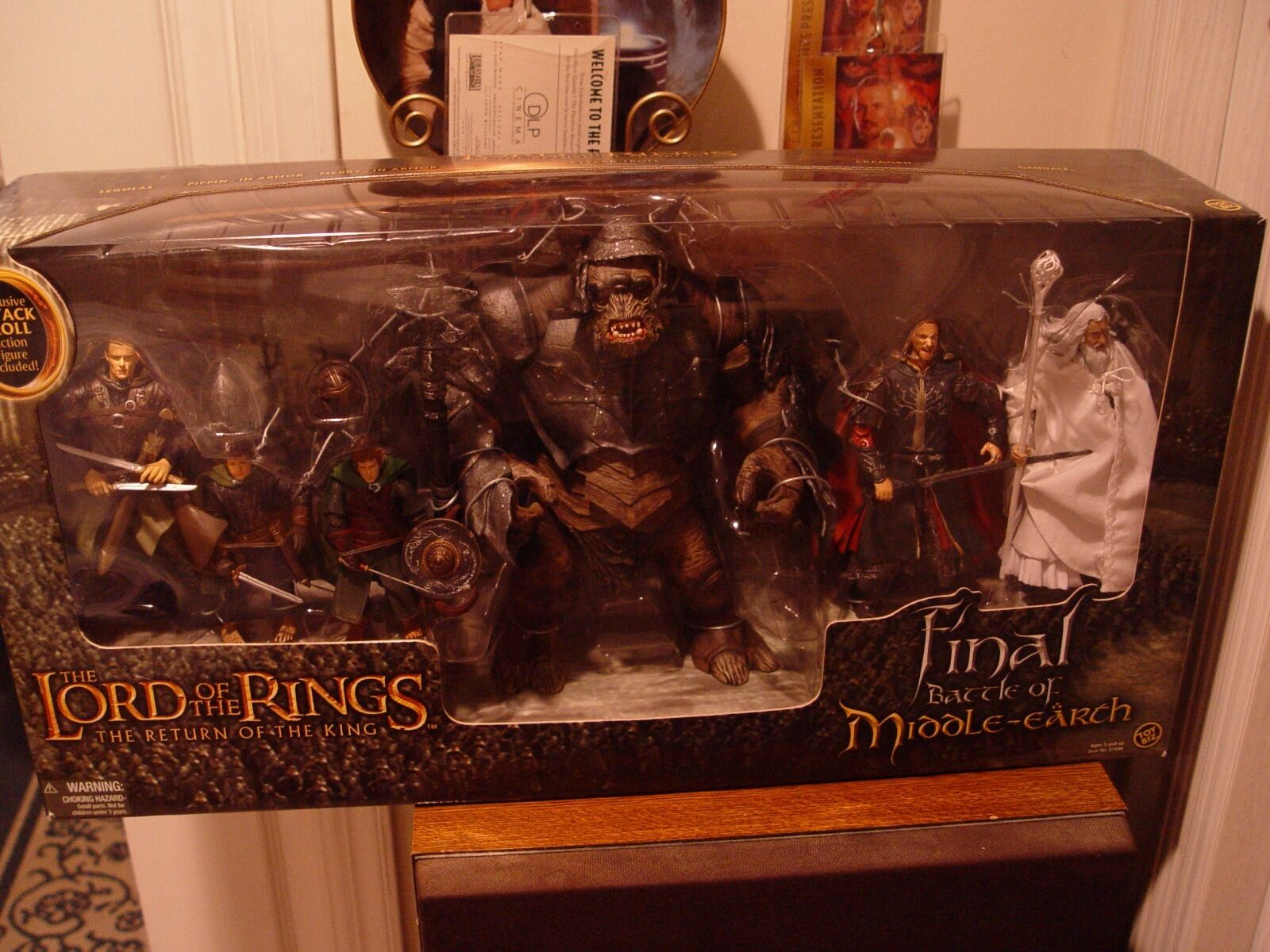 Toy Biz Lord of the Rings Final Battle for Middle Earth (2003) MIB