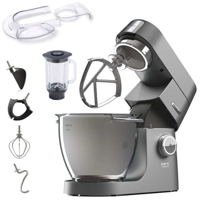 Kenwood Chef Xl Titanium Kvl8320s Kuchenmaschine 1700 W Ebay