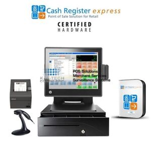 pcAmerica CRE Cash Register Express CBD Store POS System