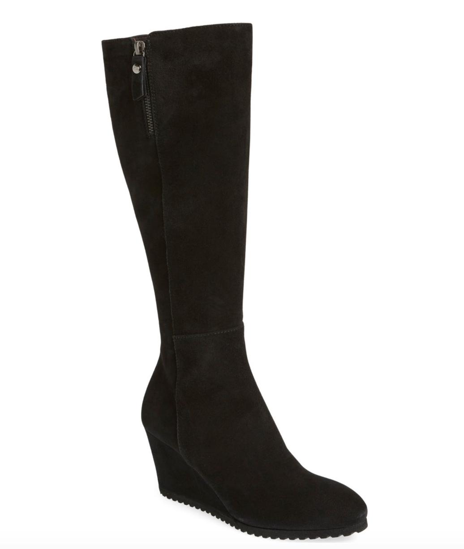 AGL para para para mujer botas de cuña negro Frankie alto 6004 Talla 38.5 EU  online barato