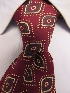 Men-039-s-Robert-Talbott-Silk-Hand-Made-In-Italy-Tie-V23935