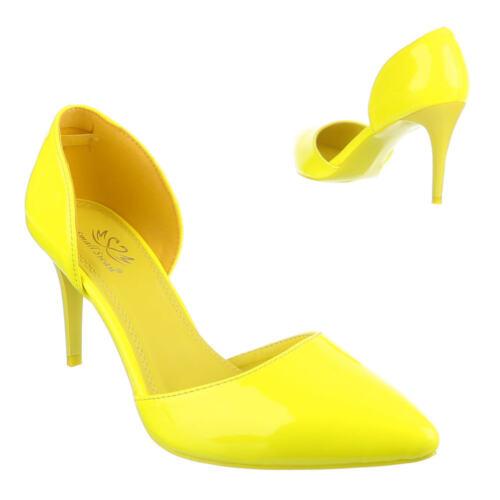 High Heels Pumps High Heel Damenschuhe 2753 Ital-design