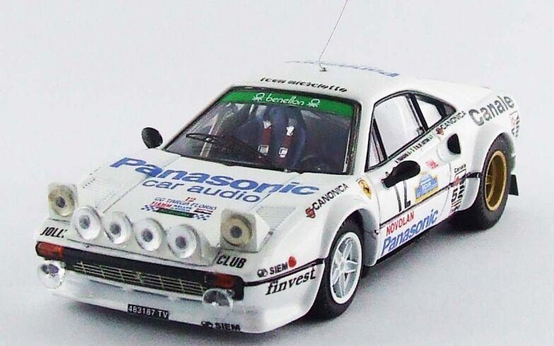 BEST Modelll BES9600 - Ferrari 308 GTB  12 1er Targa Florio - 1982   1 43