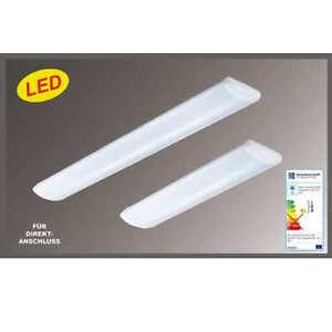 14W LED Wannenleuchte Decken Lampe Anbauleuchte Arbeitslampe 67 cm lang 4000K