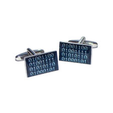 Binary Code Love Mens Gift For him Cufflinks Executive Gift For Him