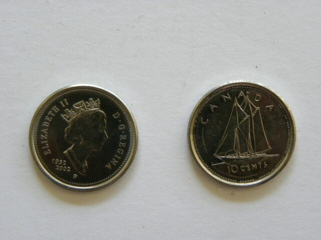 10 cents - Dime - Canadian coin - Canada - 2002