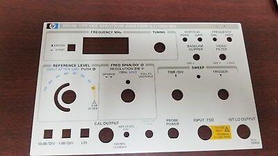 HP8558B Spectrum Analyzer 0.1-1500MHz Option 001 /& 002 Operating Information