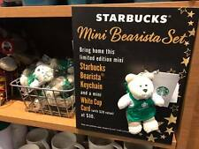 RARE-NEW-BEARISTA-SPECIAL-STARBUCKS-COFFEE-KEYCHAIN-collection-KEYRING-SINGAPORE