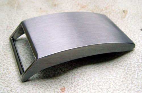 Massive Gürtelschnalle aus Zink-Druckguss Koppell  poliert 4 cm Gürtel Buckle
