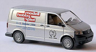 Model Building 1:87 Silver Silver Metallic Wiking 0309 03 Vw Volkswagen T5 Box 2003-09