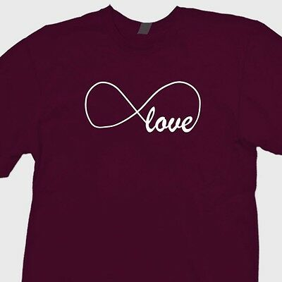 INFINITY SYMBOL GEEK NERD PATTERN FASHION  100/% Cotton T-shirt tshirt tee top