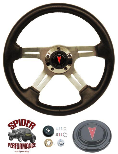 """1969-1992 Firebird steering wheel PONTIAC 4 SPOKE 14"""" steering wheel"""